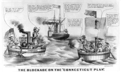 Blockade_connecticut_plan_civil_war_cartoon